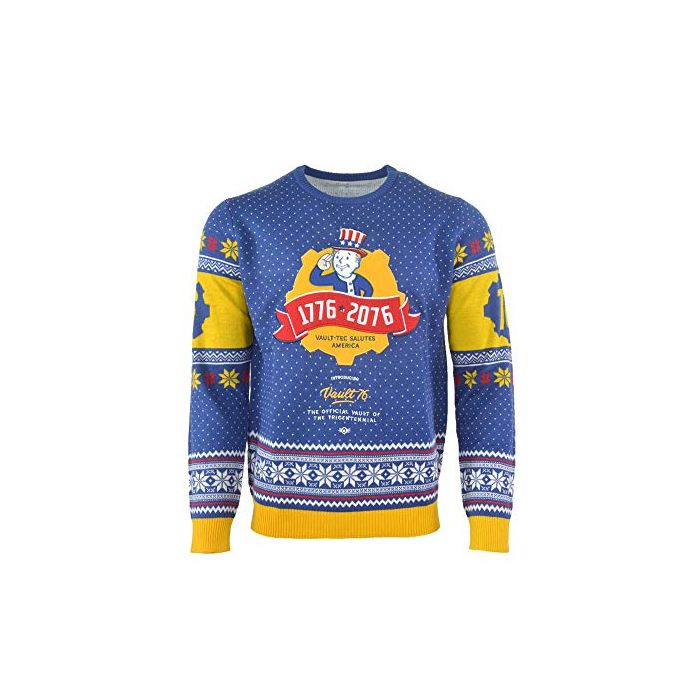 Fallout 76 Christmas Jumper Ugly Sweater for Men Women Boys and Girls - XS (New)