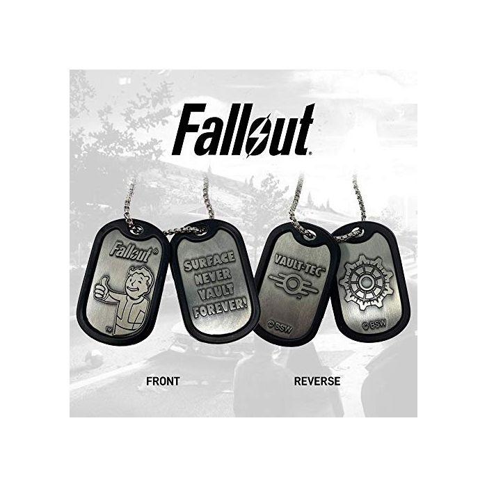 FaNaTtik Fallout Dog Tags with ball chain Logo Pendants necklaces (New)