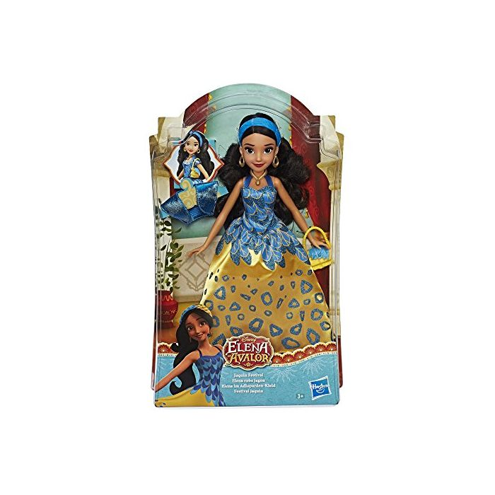 Hasbro Disney Prinzessinnen E0109EU4 Elena in Adloparden Dress Doll (New)