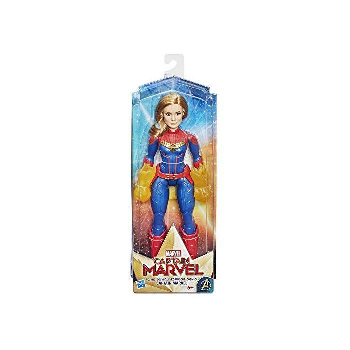 Marvel Captain Marvel Movie Cosmic Captain Marvel Super Hero Doll from Captain Marvel Movie (New)