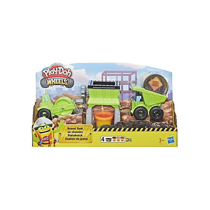 PLAY-DOH Wheels Gravel Yard Construction Toy (New)