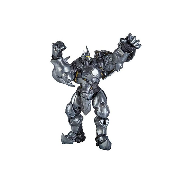 Overwatch Ultimates Series Reinhardt 6 Inch Scale Collectible Action Figure with Accessories, Blizzard Video Game Character (New)