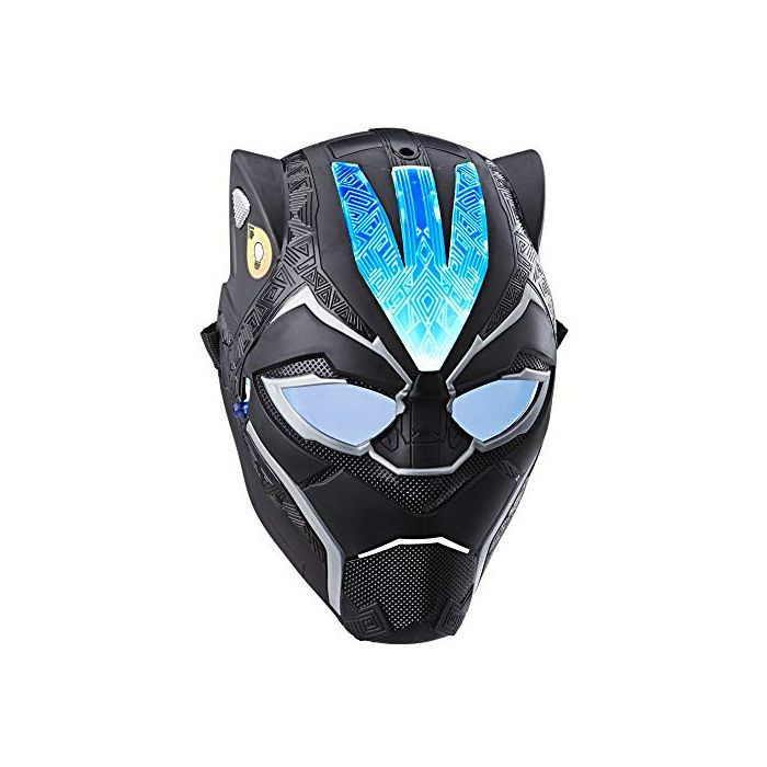 Marvel Black Panther Vibranium Power FX Mask with Pulsating Light Effects for Costume and Role Play (New)