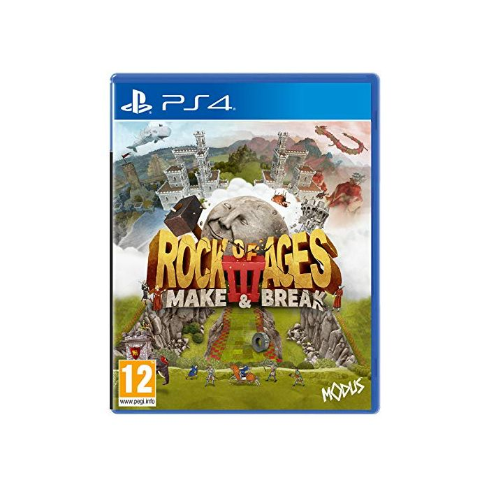 Rock of Ages 3: Make & Break (PS4) (New)