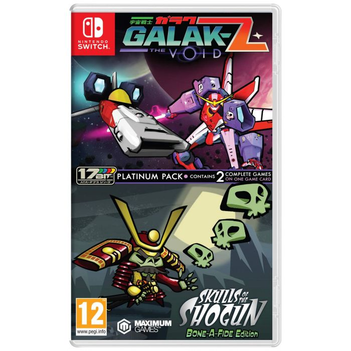 Galak-Z: The Void & Skulls of the Shogun: Bonafide Edition - Platinum Pack (Nintendo Switch) (New)