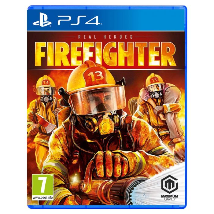 Real Heroes: Firefighter (PS4) (New)