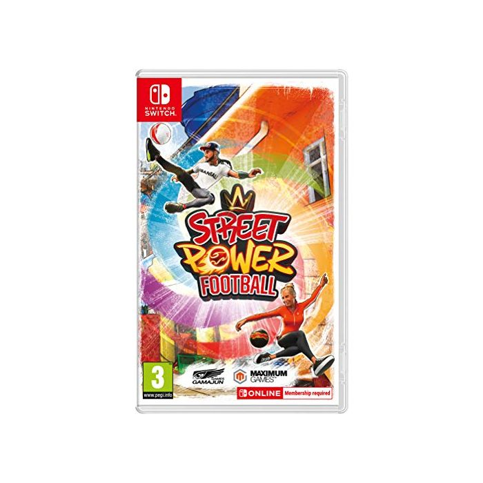 Street Power Football (Nintendo Switch) (New)