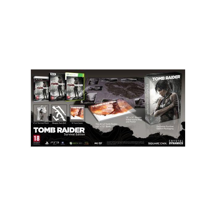 Tomb Raider: Survival Edition (PC) (New)