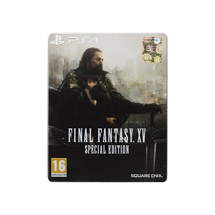 Final Fantasy XV (Special Steelbook Edition) (PS4) (New)