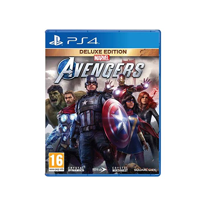 Marvel's Avengers Deluxe Edition (PS4) (New)