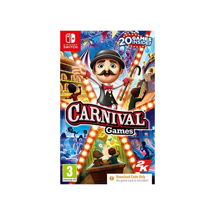 Carnival Games (Code In A Box) (Nintendo Switch) (New)