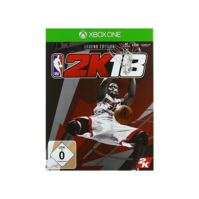 - NBA 2K18: LEGEND EDITION (German Import) (New)