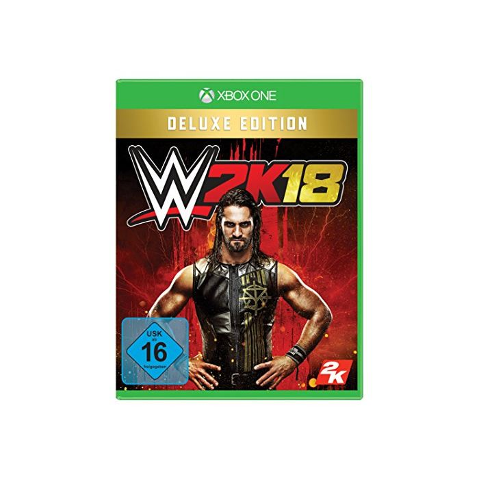 - WWE 2K18: DELUXE EDITION (German Import) (New)