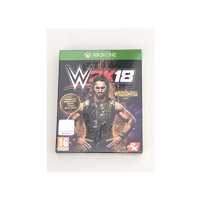 WWE 2K18 Wrestlemania Edition (Xbox One) (New)