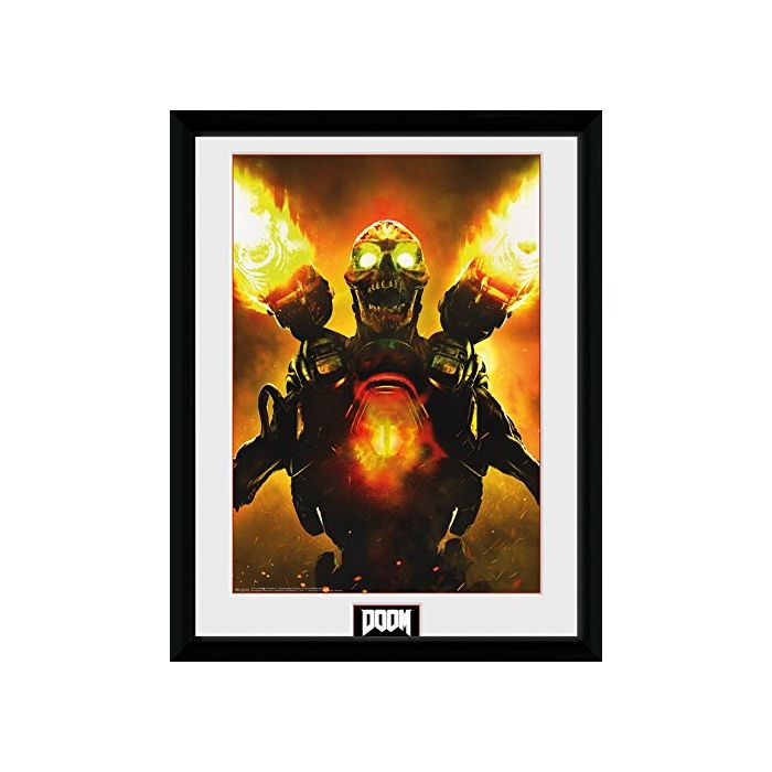 GB eye, Doom, Key Art, Framed Photographic, 16