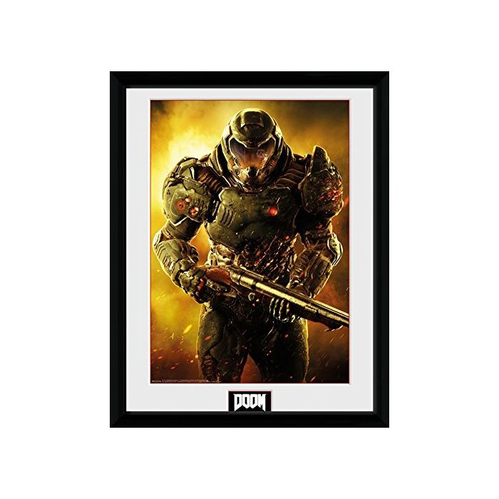 GB eye, Doom, Marine, Framed Photographic, 16
