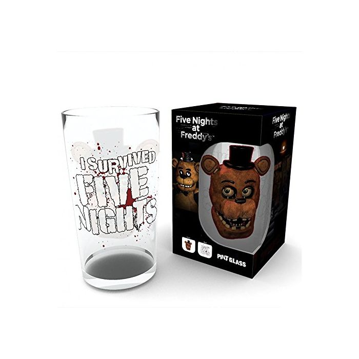 GB eye LTD, Five Nights at Freddys, Fazbear, Large Glasses, Multi-Colour, 74 x 44 x 9 cm (New)