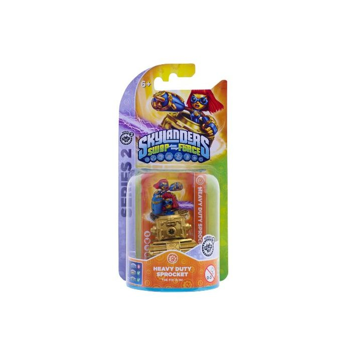 Skylanders Swap Force - Single Character Pack - Sprocket (Xbox 360/PS3/Nintendo Wii U/Wii/3DS) (New)