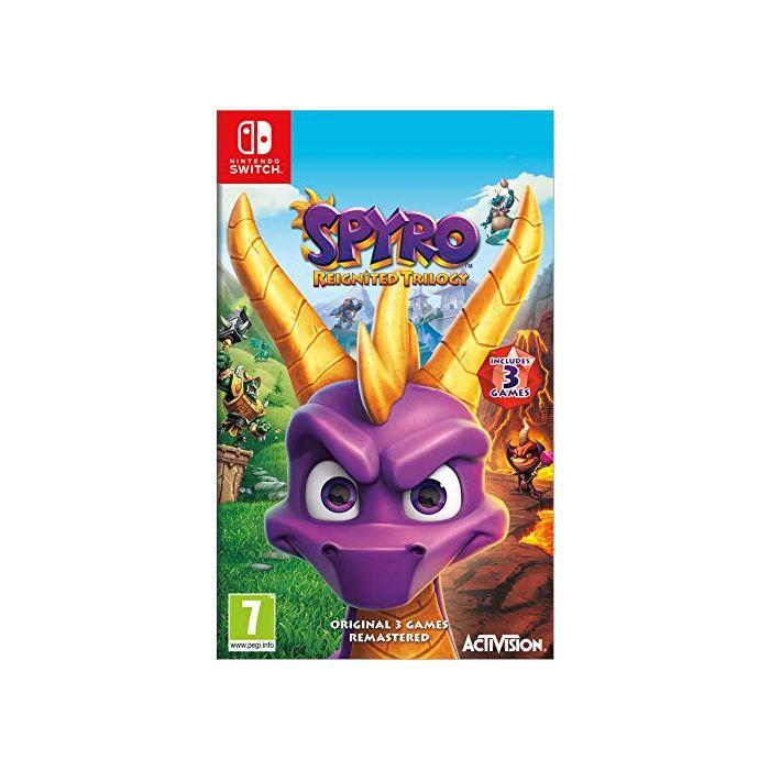 Spyro Trilogy Reignited (French Import) (Switch) (New)