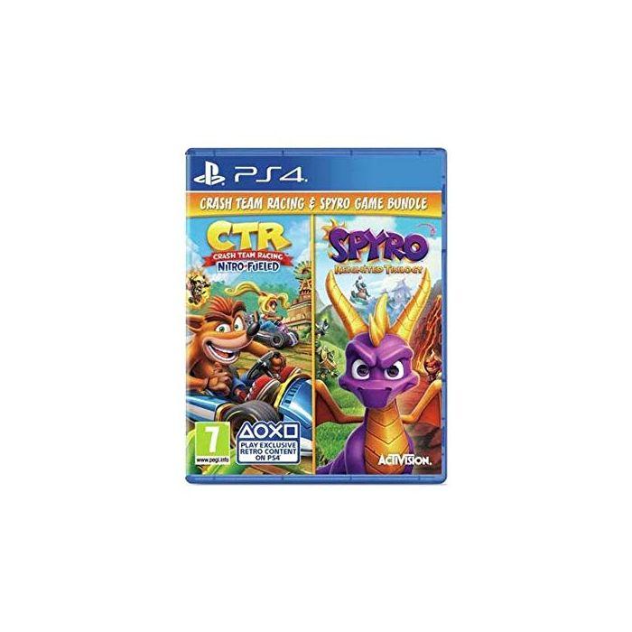 Crash Team Racing & Spyro Trilogy Double Pack PS4 (New)