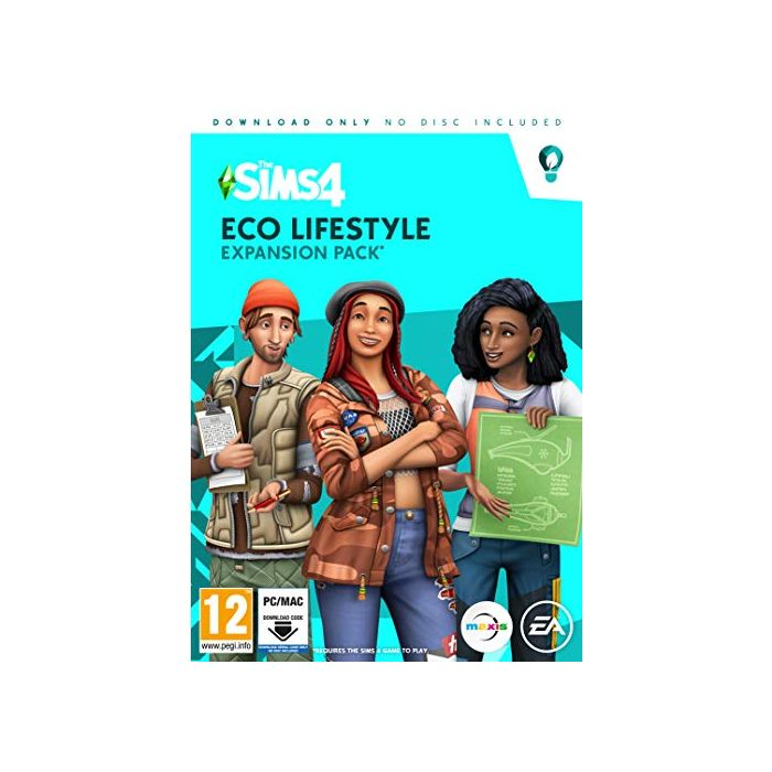 The Sims 4 Eco Lifestyle (PC Code in Box) (Windows) (New)