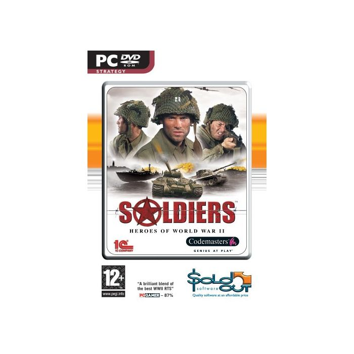 Soldiers: Heroes of World War II (PC) (New)