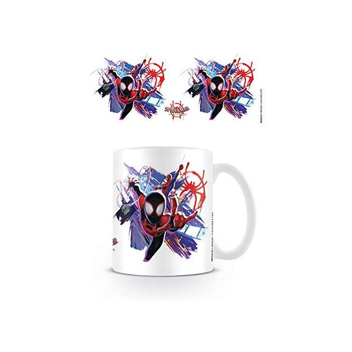 Spider-Man Into The Spider-Verse MG25318 Ceramic Mug, 315 ml / 11 oz, Multi-Colour (New)