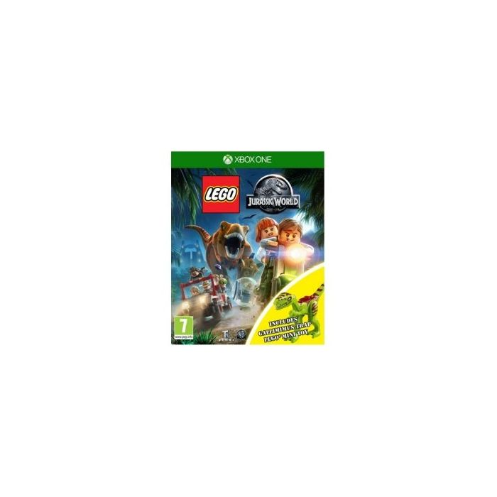 Lego Jurassic World Toy Edition XBOX One Game (with Gallimimus Dinosaur) (New)