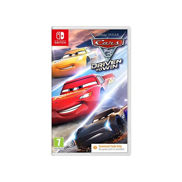 Cars 3 (Code in Box) (Nintendo Switch) (New)