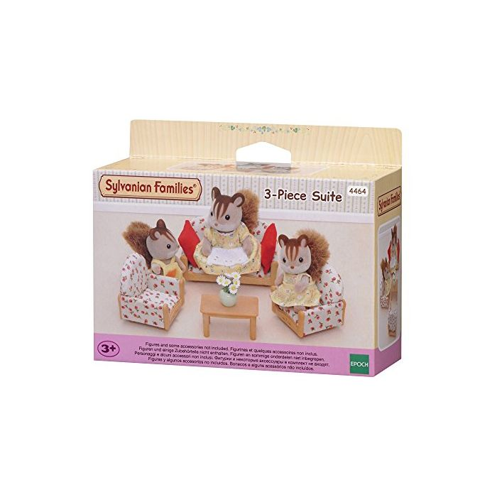 Sylvanian Families - Suite (3 Pieces) (New)