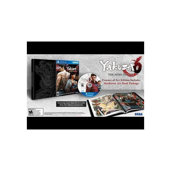 Yakuza 6: The Song of Life (Essence of Art Edition) (PS4) (New)