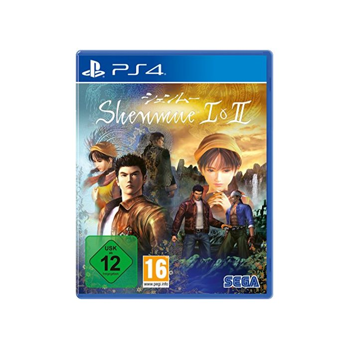 Shenmue I & II (PlayStation PS4) (German version) (New)