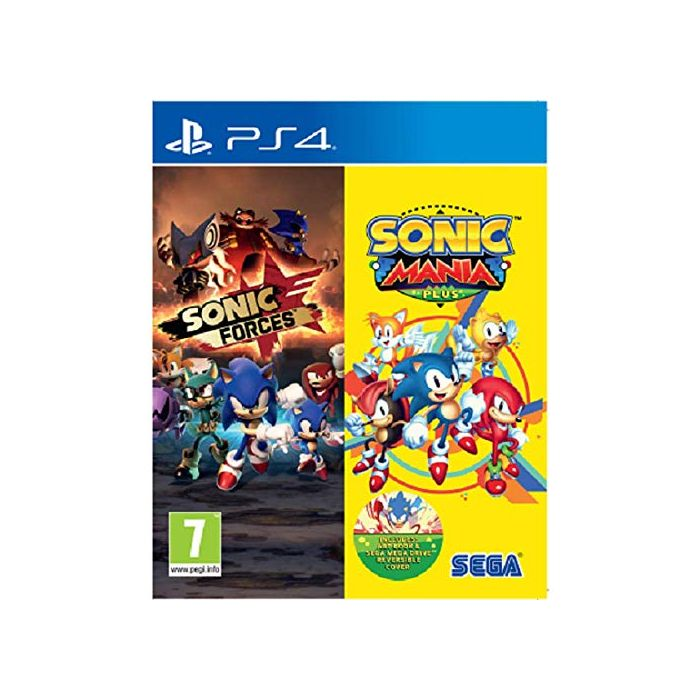 Sonic Forces & Sonic Mania Plus Double Pack (New)