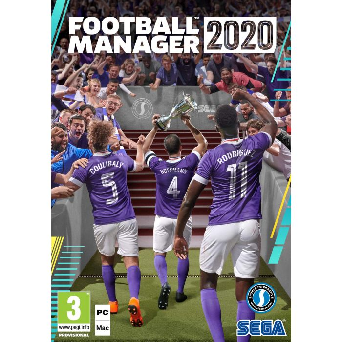 Football Manager 2020 PC DVD (New)