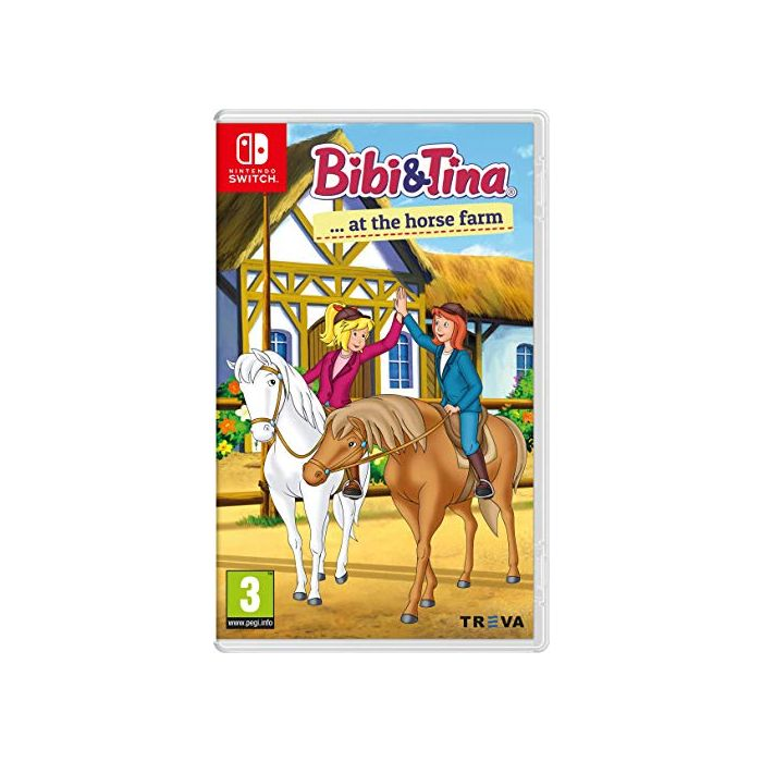 Bibi & Tina at the Horse Farm (Nintendo Switch) (New)