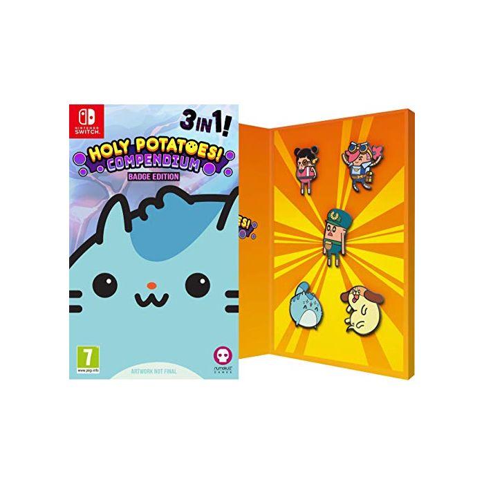 Holy Potatoes Compendium Badge Edition (Nintendo Switch) (New)
