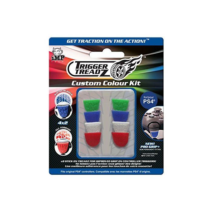 Trigger Treadz: 8-Pack Custom Colour Kit (PS4) (New)