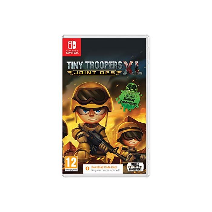 Tiny Troopers Joint Ops XL (Code In A Box) (Switch) (New)