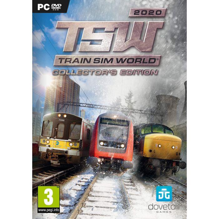 Train Sim World 2020: Collector's Edition (PC DVD) (New)