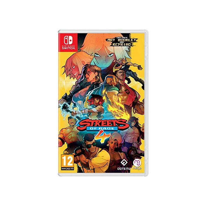 Streets Of Rage 4 (Nintendo Switch) (New)