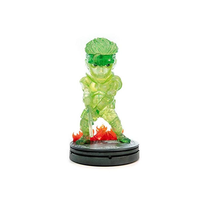 First4Figures MGSSSSDNGS Snake SD Stealth Camo. Neon Green (Metal Gear Solid) PVC Collectable Figurine (New)