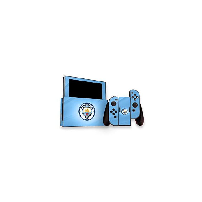 Official Manchester City FC Nintendo Switch Skin Set (New)