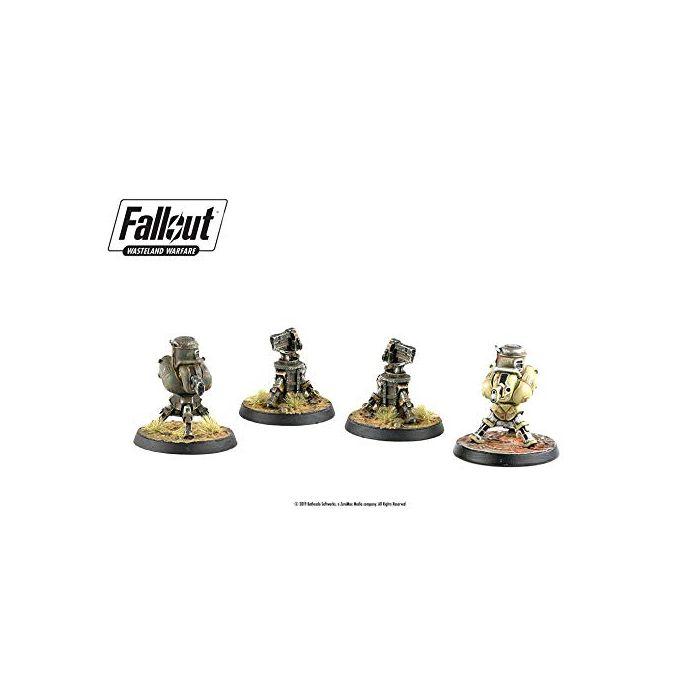 Modiphius Entertainment Fallout: Wasteland Warfare Turret Expansion (New)