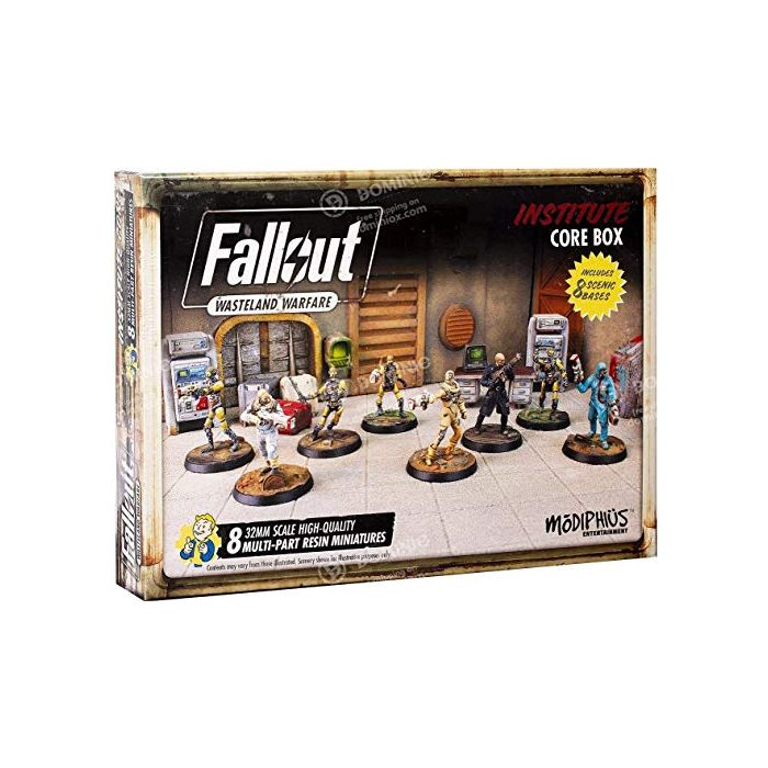 Fallout: Wasteland Warfare - Institute Core Box (New)
