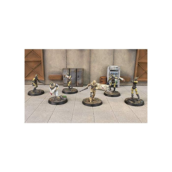 Fallout: Wasteland Warfare - Institute Synths (Minis and Scenics Box Set) (New)