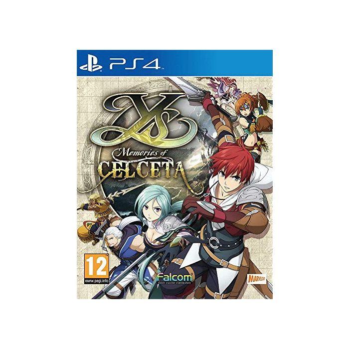 Ys: Memories of Celceta (PS4) (New)