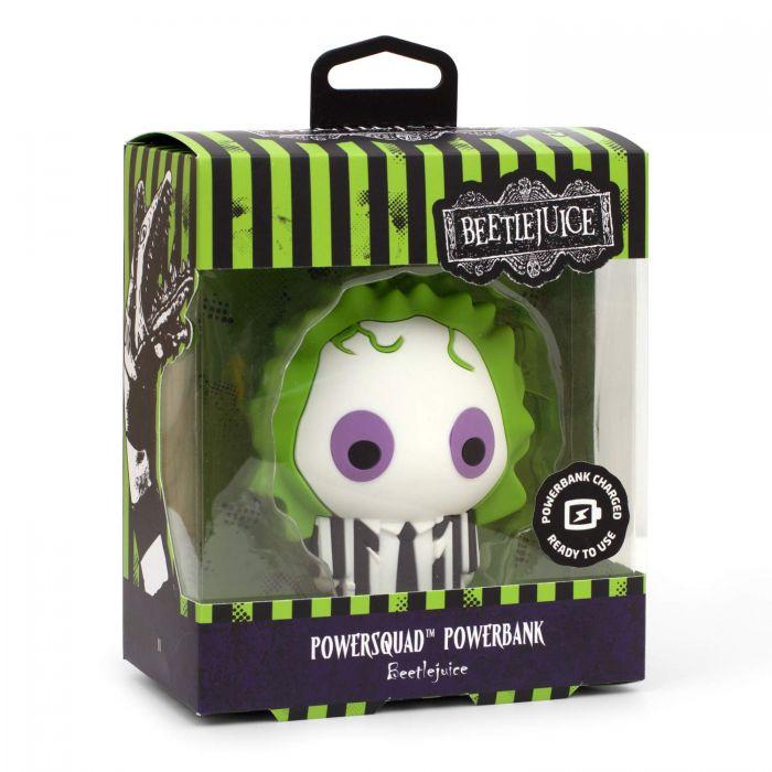 Power Squad Beetlejuice Powerbank (New)
