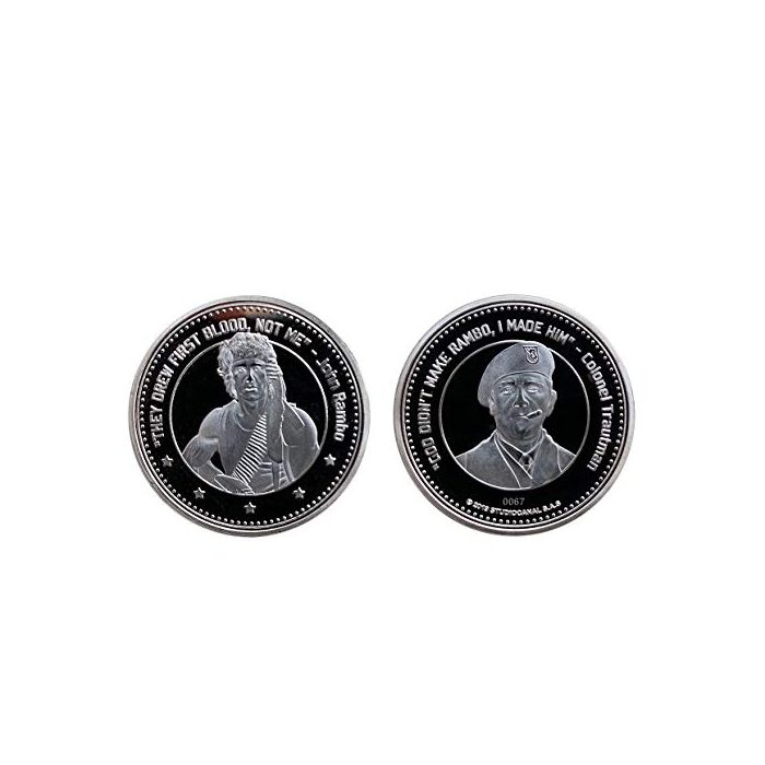 Rambo Limited Edition Coin (New)