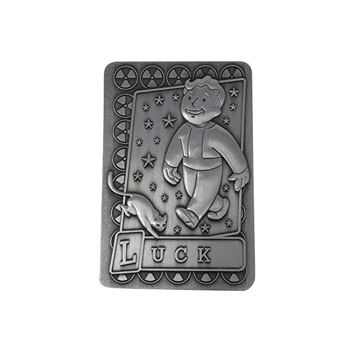 FaNaTtik Fallout Replica Perc Card Luck Replicas (New)