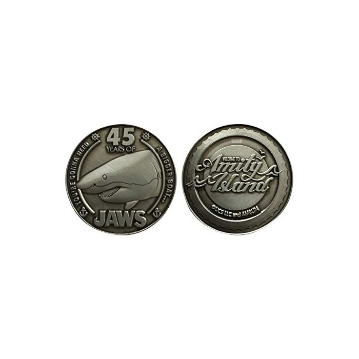Jaws 45th Anniversary Limited Edition Coin (New)